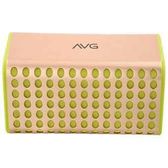buy AVG PORTABLE BLUETOOTH SPEAKER F4 YELLOW :AVG