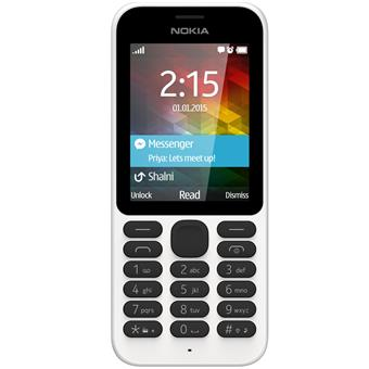 buy NOKIA MOBILE 215 DUAL SIM WHITE :Nokia