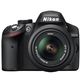 buy NIKON DSLR D3200 1855MM Lens BLACK :Nikon