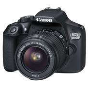 buy Canon EOS 1300D DSLR Camera (18-55 ISII IND, Black)