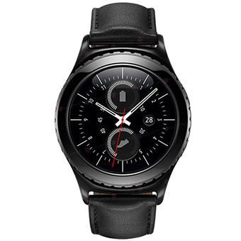 buy SAMSUNG GALAXY GEAR S2 CLASSIC R7320 BLACK :Samsung
