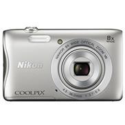 buy Nikon Coolpix S3700 Point & Shoot Camera (Silver)