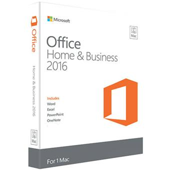 buy MS MAC OFFICE HOME & STUDENT 2016 ENGLISH MEDIALESS :Microsoft
