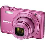 buy Nikon Coolpix S7000 Point & Shoot Camera (Pink)