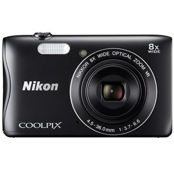 buy NIKON STILL CAMERA S3700 BLACK :Nikon