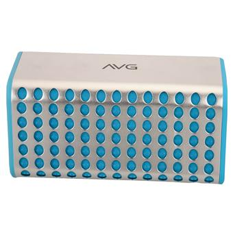 buy AVG PORTABLE BLUETOOTH SPEAKER F4 BLUE :AVG