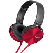 buy Sony MDRXB450 Headphone (Red)