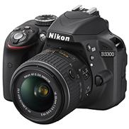 buy Nikon D3300 DSLR Camera (18-55mm, Black)
