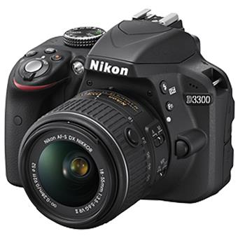 buy NIKON DSLR D3300 WITH (18-55) VR KIT :Nikon