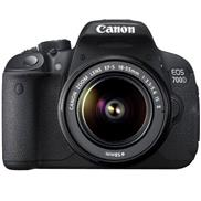 buy Canon EOS 700D DSLR Camera (18-55IS + 55-250IS, Black)