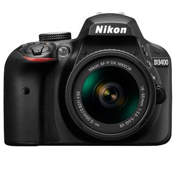buy NIKON DSLR D3400 WITH AF-P 18-55MM LENS :Nikon