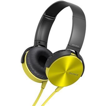 buy SONY HEAPHONE MDRXB450YC YELLOW :Sony