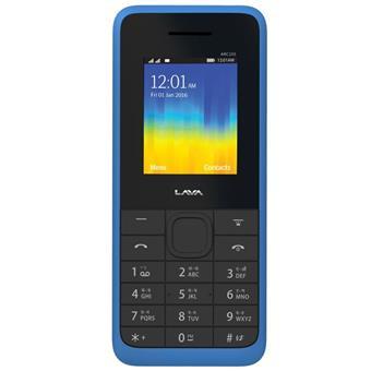 buy LAVA MOBILE ARC 105 BLACK BLUE :LAVA