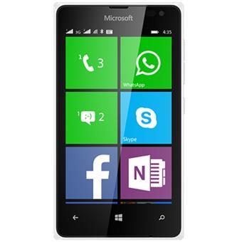 buy MICROSOFT MOBILE LUMIA 435 DUAL SIM WHITE :Microsoft
