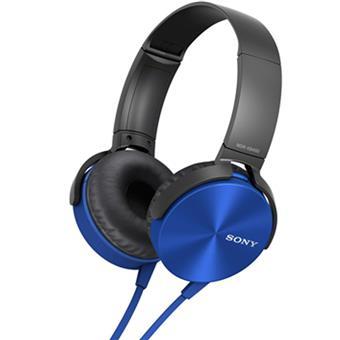 buy SONY HEAPHONE MDRXB450LC BLUE :Sony
