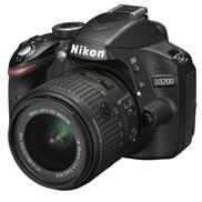 buy Nikon D3200 DSLR Camera (18-55+55-200MM VR KIT, Black)