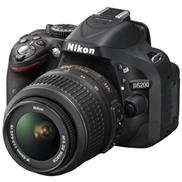 buy Nikon D5200 DSLR Camera (18-55mm, Black)