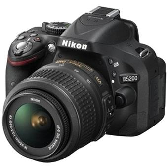 buy NIKON DSLR D5200 1855MM Lens BLACK :Nikon