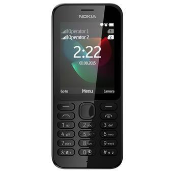buy NOKIA MOBILE 222 DUAL SIM BLACK :Nokia