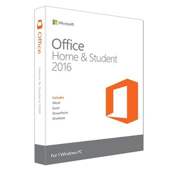 buy MS OFFICE HOME & STUDENT 2016 ENG MEDIALESS :Microsoft
