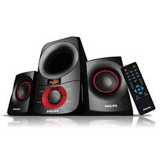 Philips MMS6060F 2.1 Multimedia Speaker