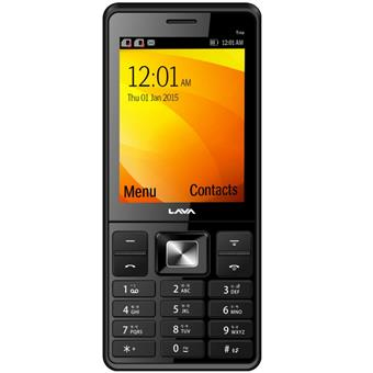 buy LAVA MOBILE KKT TRIO BLACK RED :LAVA
