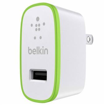 buy BELKIN SINGLE MICRO WALL CHARGER UNIVERSAL 5V 2.1A BLACK :Belkin